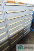 8-DRAWER LISTA CABINET WITH CONTENTS INCLUDING MISCELLANEOUS JOHNSON CONTROL, MODULES, PROBES,
