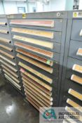 (LOT) 15-DRAWER VIDMAR CABINET WITH CONTENTS INCLUDING MISCELLANEOUS PUMP PARTS (CABINET MG)