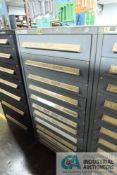 12-DRAWER VIDMAR CABINET WITH CONTENTS INCLUDING MISCELLANEOUS MILL ROOM PARTS (CABINET OB)