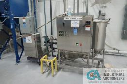 SEMI-BULK SYSTEMS SKID MOUNTED DRY INGREDIENT HANDLING SYSTEM WITH WALL MOUNT PREMIX CONTROL, 15