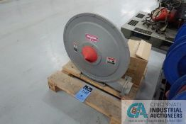 FIVES NORTH AMERICAN SERIES 2300 HEAVY DUTY CENTRIFUGAL BLOWER, 3/4 HP ELECTRIC MOTOR
