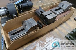 """(2) 3"""" AND (1) 2-3/4"""" PRECISION TOOLMAKER VISES"""