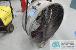 "36"" DIAMETER TRIANGLE ENGINEERING MODEL PC3613 DRUM TYPE PORTABLE INDUSTRIAL DUTY AIR CIRCULATOR"