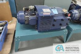 BECKER MODEL KVX 3.100 ROTARY VANE VACUUM PUMP; S/N 2564190 (NEW 2011)