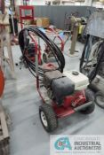 EXCELL MODEL 3540CW 3500 PSI PORTABLE GAS POWERED PRESSURE WASHER, 13 HP HONDA ENGINE WITH HOSE