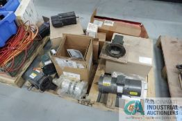 SKID MISCELLANEOUS MOTORS AND GEAR REDUCERS