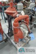 """2"""" WILDEN PUMP MODEL M8 AIR-OPERATED DOUBLE DIAPHRAM PORTABLE STAINLESS STEEL WATER PUMP"""