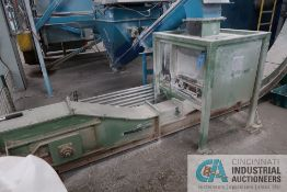 """**84"""" WIDE TROMMEL BOTTOM DISCHARGE LAMP PHOSPHOR POWER RECYCLER WITH INCLINE LOAD CONVEYOR, NO. 1"""