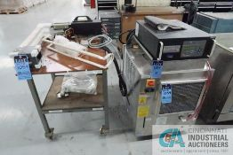 6.0 KW AMBRELL MODEL EASY HEAT 5060LI INDUCTION HEATING SYSTEM; S/N 117309-12120732, 3 PHASE,