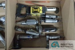 (LOT) MISCELLANEOUS STRAIGHT SHAFT PNEUMATIC HAND TOOLS