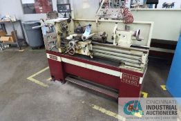 """13"""" X 40"""" ACER MODEL DYNAMIC-1340G GAP BED GEARED HEAD ENGINE LATHE; S/N N2120390, WITH NEWALL TOPAZ"""