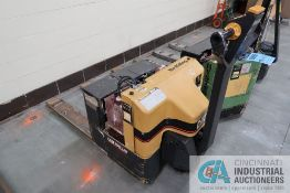 4,000 LB CATERPILLAR MODEL NPP40 WALK BEHIND ELECTRIC PALLET TRUCK; S/N 2CL00402, BUILT-IN CHARGER