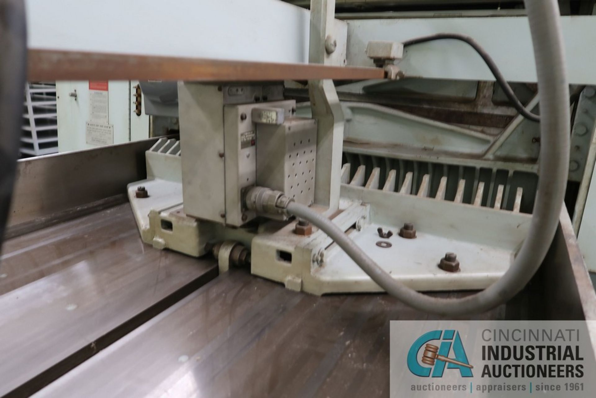 """40"""" HARRIS SEYBOLD CITATION PAPER CUTTER WITH (3) SPARE KNIVES, 3-TON CLAMP PRESSURE - Image 13 of 15"""