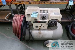 3 HP CRAFTSMAN PORTABLE AIR COMPRESSOR, 250 VOLT, 3-PRONG TWIST PLUG