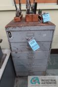 6-DRAWER CABINET WITH MISCELLANEOUS TOOLING