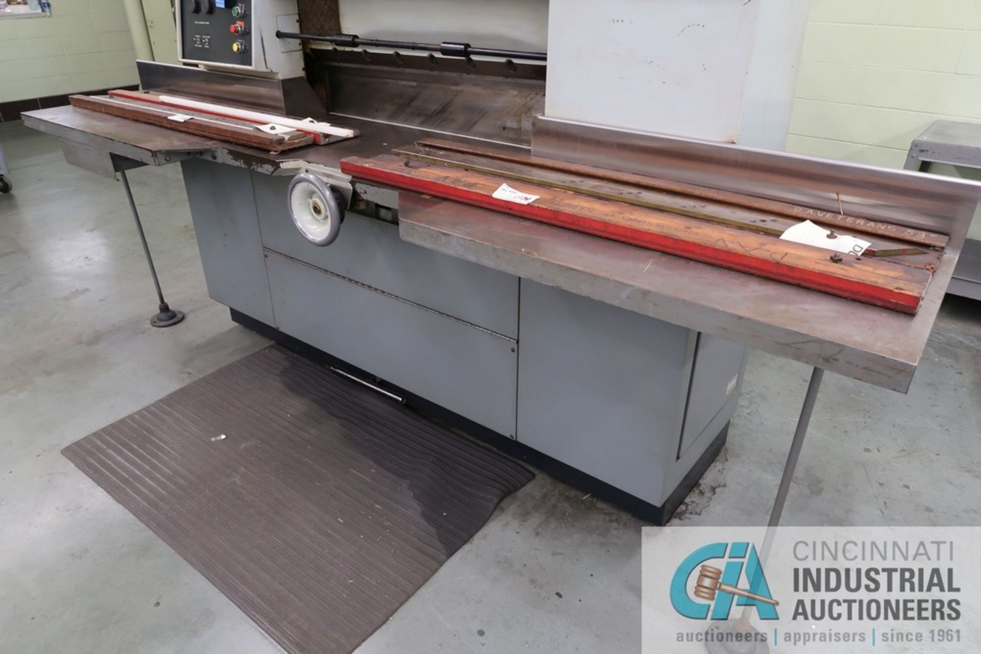 """40"""" HARRIS SEYBOLD CITATION PAPER CUTTER WITH (3) SPARE KNIVES, 3-TON CLAMP PRESSURE - Image 9 of 15"""