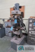 """3/4 HP ROCKWELL UNIVERSAL MILL, HORIZONTAL AND VERTICAL MILLING, 6.5"""" X 24"""" TABLE, 60-2400 RPM"""