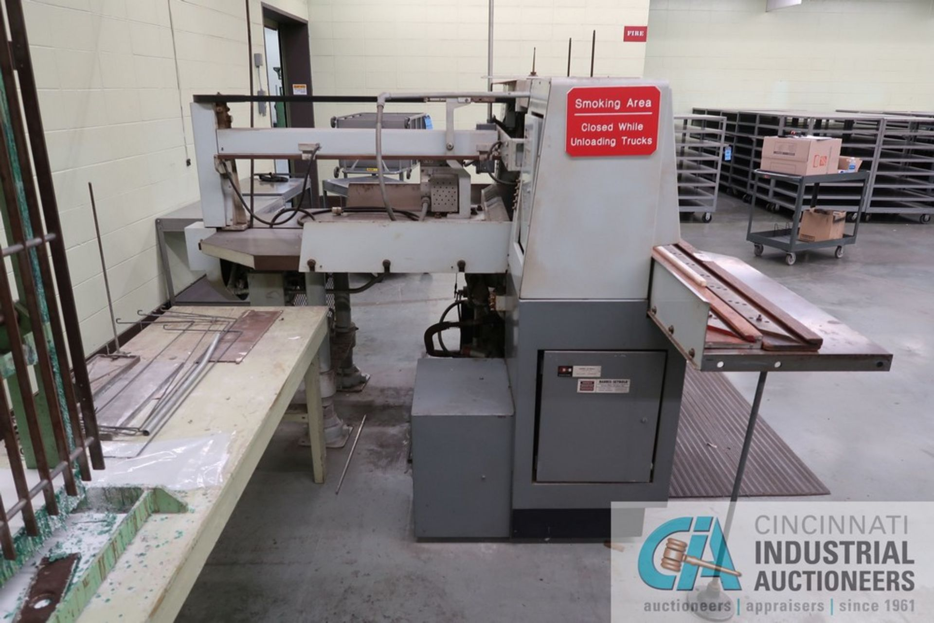 """40"""" HARRIS SEYBOLD CITATION PAPER CUTTER WITH (3) SPARE KNIVES, 3-TON CLAMP PRESSURE - Image 5 of 15"""