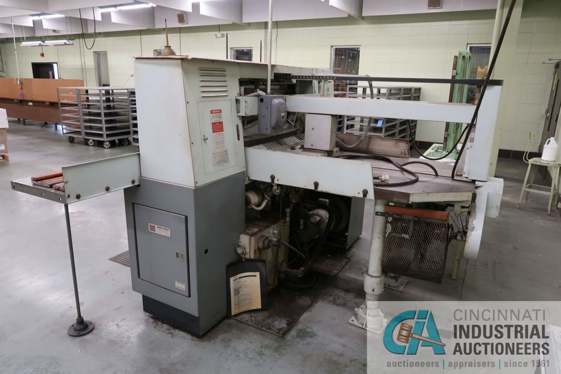 """40"""" HARRIS SEYBOLD CITATION PAPER CUTTER WITH (3) SPARE KNIVES, 3-TON CLAMP PRESSURE - Image 4 of 15"""