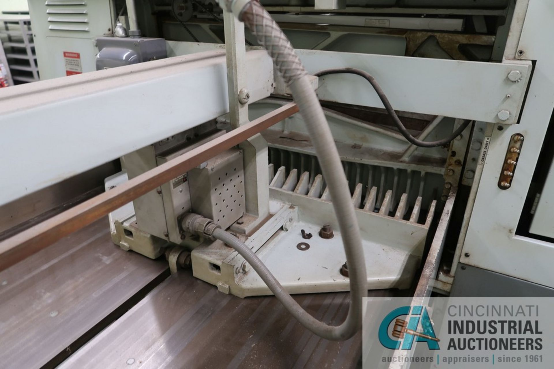 """40"""" HARRIS SEYBOLD CITATION PAPER CUTTER WITH (3) SPARE KNIVES, 3-TON CLAMP PRESSURE - Image 14 of 15"""