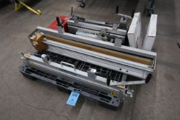 """(LOT) 42"""" CLIPPER NO. 1 FACE STRIP BELT LACER WITH 24"""" ROLLER LACER AND 36"""" CLIPPER MODEL"""