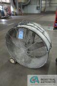 "36"" DIAMETER TRIANGLE PORTABLE DRUM STYLE AIR CIRCULATOR"