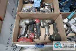 """TOTAL PNEUMATIC TOOLS INCLUDING; (2) 1/2"""" IMPACT WRENCHES, 3/8"""" IMPACT WRENCH, (3) ANGLE GRINDERS"""
