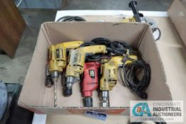 MISCELLANEOUS ELECTRIC DRILLS