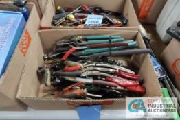 (LOT) CHANNEL LOCKS AND PLIERS
