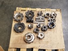 (LOT) APPROX. (20) PIECES INDEXABLE TOOLING ON SKID