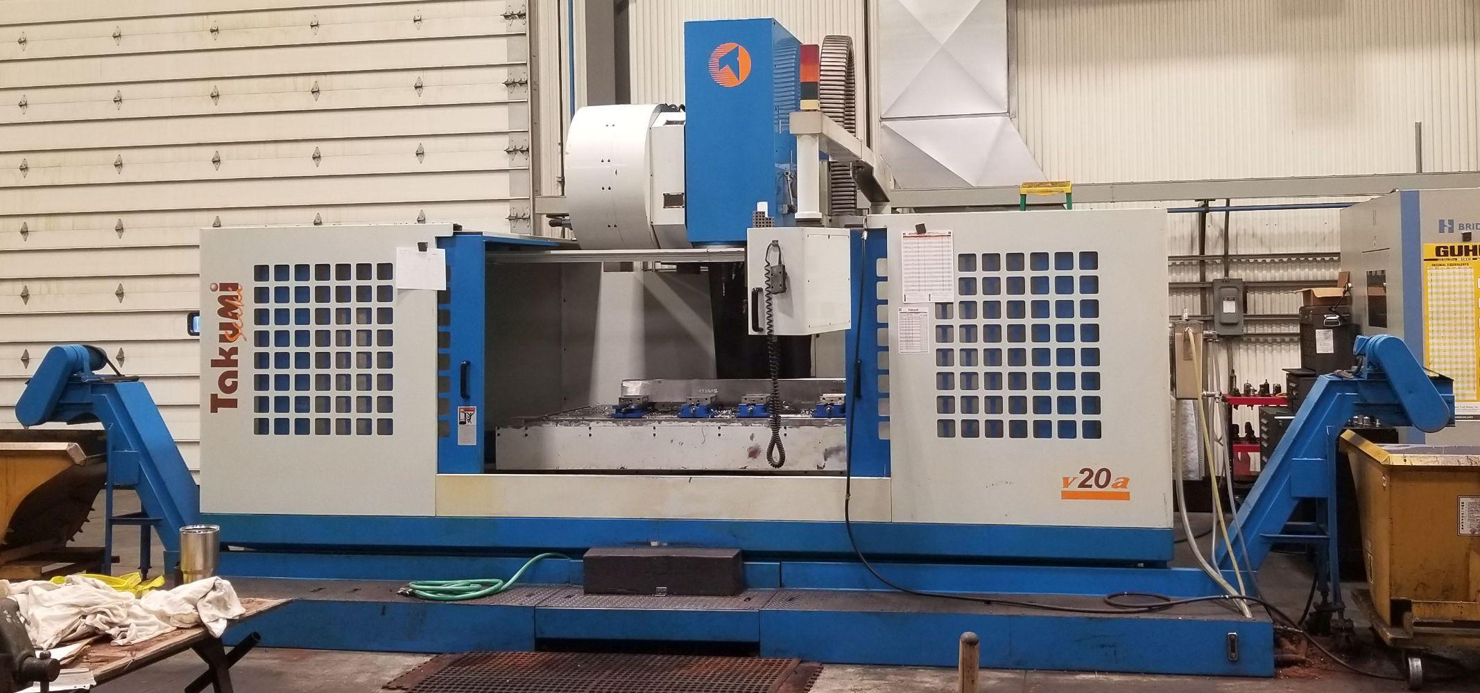 Takumi CNC VMC - Surplus Machinery