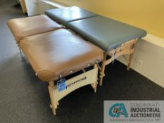 ADJUSTABLE MASSAGE TABLES **ATTN: This lot is located on the second floor. Removal will be by