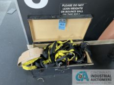 CRATE WITH MISCELLANEOUS WEIGHT TRAINING EQUIPMENT **ATTN: This lot is located on the second floor.