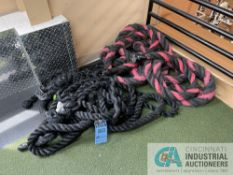 (LOT) TRAINING ROPES **ATTN: This lot is located on the second floor. Removal will be by carrying