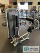 STAR TRAC IMPACT STRENGTH LOW BACK SELECTORIZED STRENGTH TRAINING MACHINE