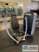 MATRIX CHEST PRESS SELECTORIZED STRENGTH TRAINING MACHINE (SNAPPED CABLE)