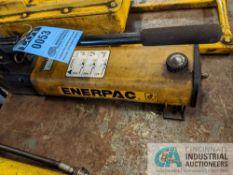 ENERPAC MODEL P80 HYDRAULIC HAND PUMP