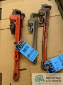 """RIGID PIPE WRENCHES: 14"""" TO 24"""""""
