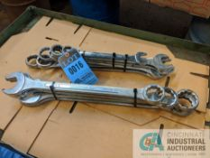 LARGER SIZE COMBINATION WRENCHES