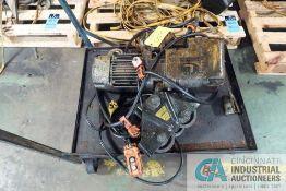 1-TON HARRINGTON ELECTRIC CHAIN HOIST