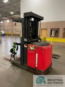 """3,000 LB. RAYMOND MODEL 540-OPC30TT STAND UP ELECTRIC ORDER PICKER; S/N EASI-05-AE36153, 204"""" LIFT"""