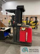 """3,000 LB. RAYMOND MODEL 540-OPC30TT STAND UP ELECTRIC ORDER PICKER; S/N EASI-02-AE31047, 210"""" LIFT"""
