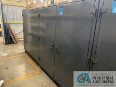 """24"""" X 72"""" X 72"""" H TWO-DOOR STRONG HOLD CABINETS W/ CONTENTS INCLUDING OIL FILTERS, AIR FILTERS,"""