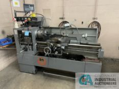 """14"""" X 40"""" SOUTH BEND LATHE; S/N 1440009366, 10"""" 3-JAW CHUCK, TAILSTOCK, TOOL POST HOLDER, NEWALL"""