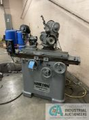 "NORTON CARBIDE TOOL GRINDER; S/N 4695, HYBCO MODEL 2100-SB RELIEF GRINDER, 5"" X 36"" TABLE,"