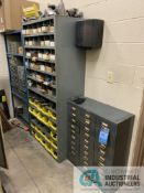 (LOT) (3) CABINETS W/ PERISHABLE TOOLING, DRILL INDEXES