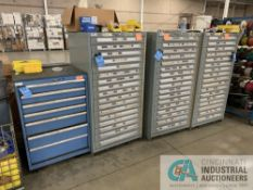 VIDMAR TOOLING CABINETS W/ CONTENTS INCLUDING HARDWARE, MISC. MAINTENANCE, & ELECTRICAL CONDUIT
