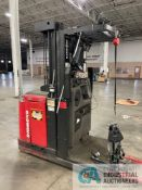 3,000 LB. RAYMOND MODEL OPC30TT STAND UP ELECTRIC ORDER PICKER; S/N 540-07-A03781 (NEW 2007)