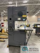 """26"""" DOALL VERTICAL BAND SAW; NO. 2642443, 30"""" X 30"""" TABLE, BLADE WELDER"""