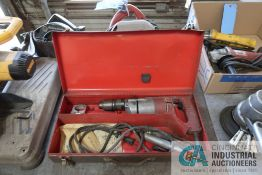 MILWAUKEE CAT NO. 5398 ELECTRIC HAMMER DRILL